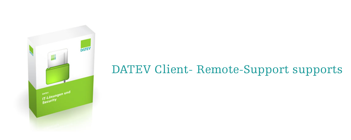 DATEV Client-Remote-Support supports